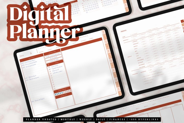 Digital Planner for Goodnotes iPad