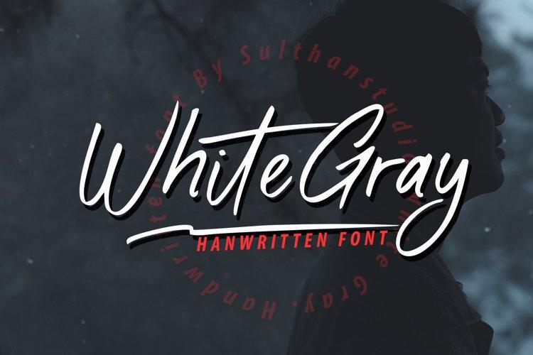 White Gray example image 1