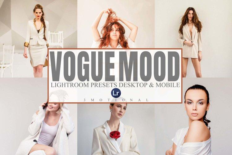 7 Vogue Mood Lightroom Mobile And Desktop Presets example image 1