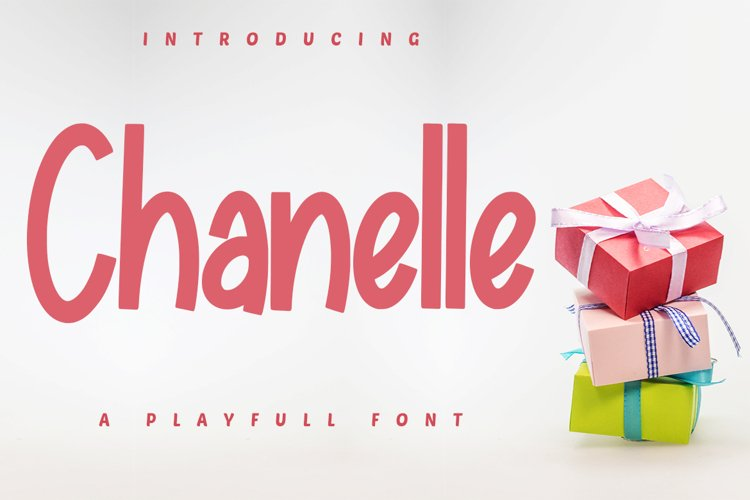 Chanelle - A Playfull Font example image 1