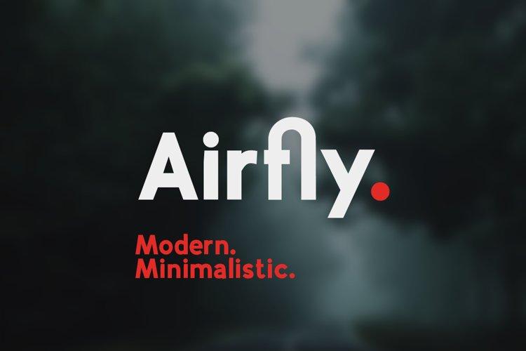 Airfly - Sans Serif Family example image 1
