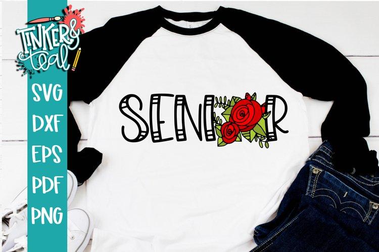 Senior Rose 2020 SVG example image 1