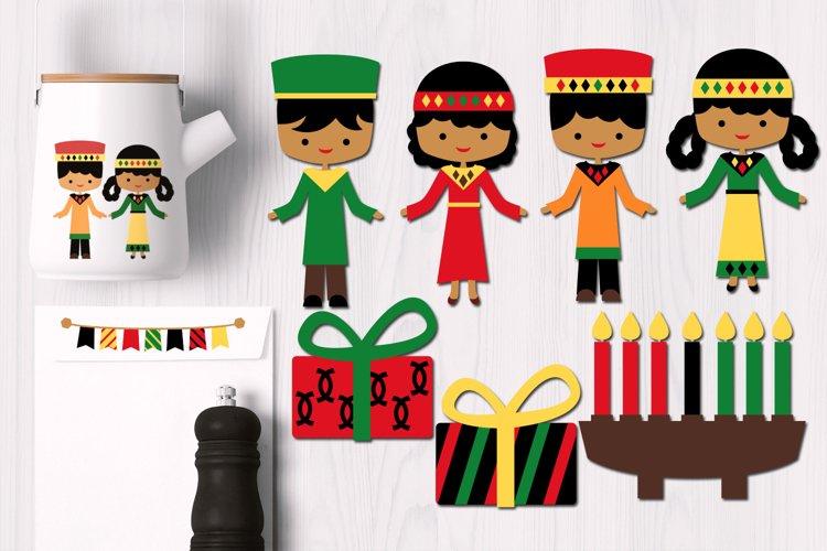 Kwanzaa Kids Graphics example image 1
