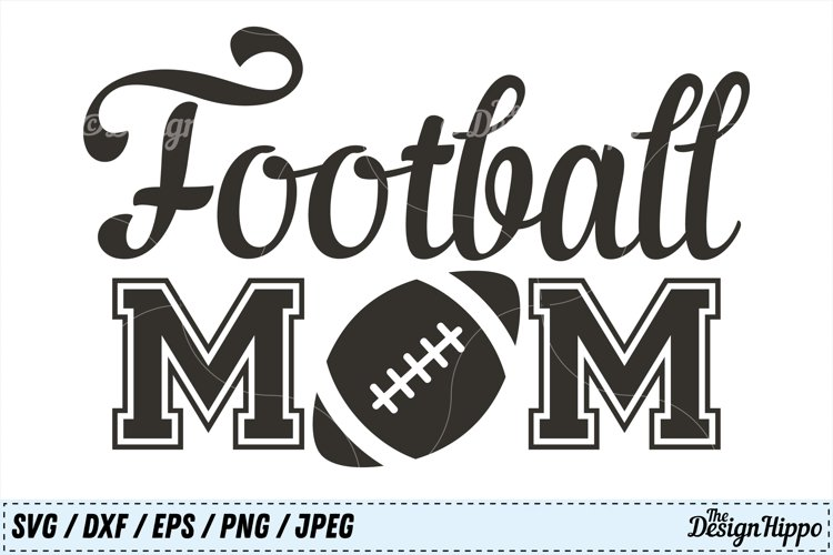 Commercial Use svg dxf eps png Cutting File Cut File Football Love SVG Football SVG Instant Download