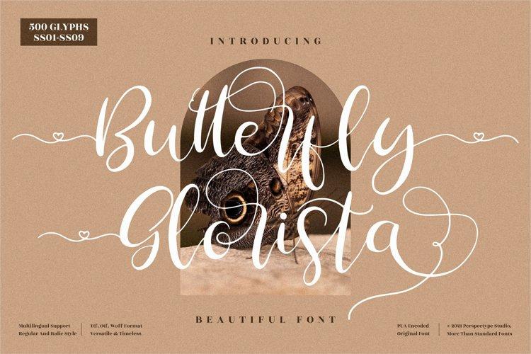 Butterfly Glorista - Beautiful Script Font example image 1