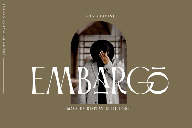 Embargo example image 1
