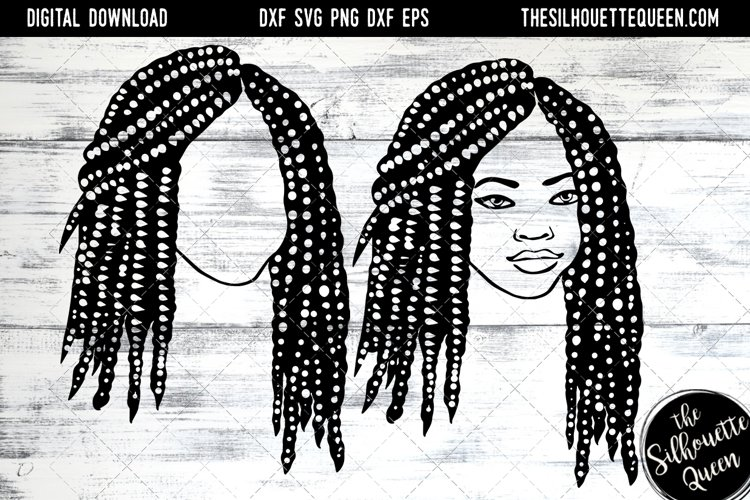 Afro Hair - Short Bob Box Braids example image 1
