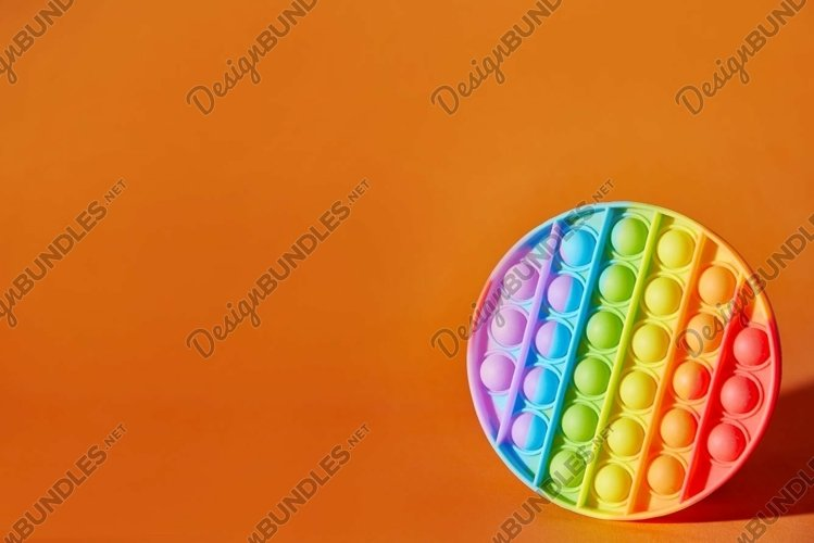 Photo an anti-stress pop it toy