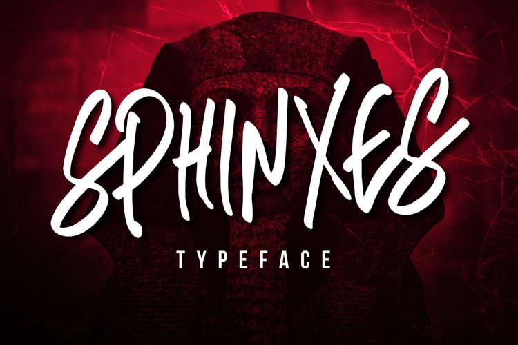 Sphinxes Typeface example image 1