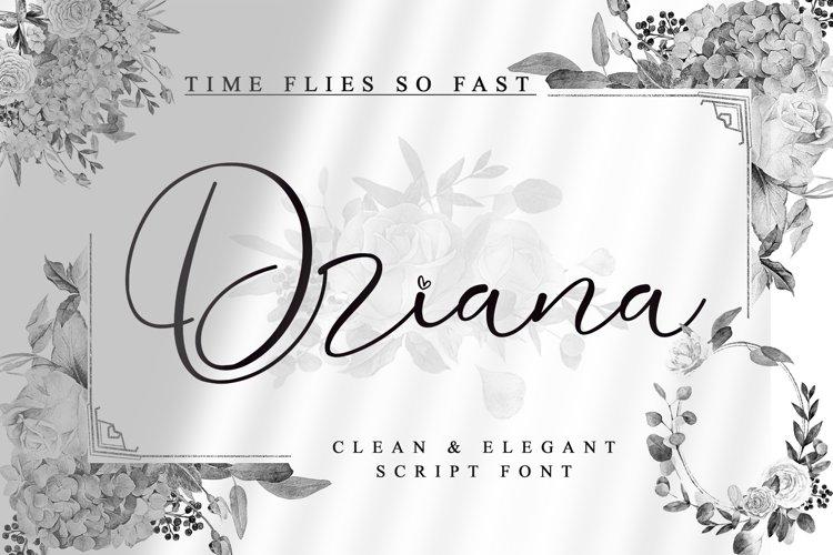 Driana Brideth - WEB FONT - example image 1