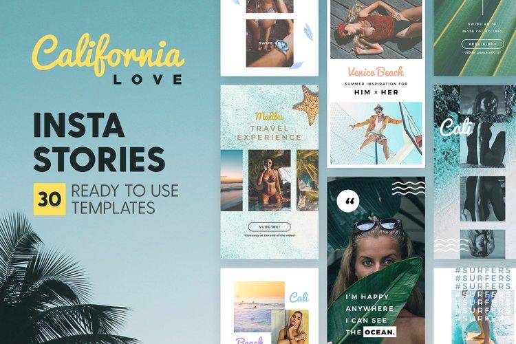 Instagram Stories - California Love example image 1