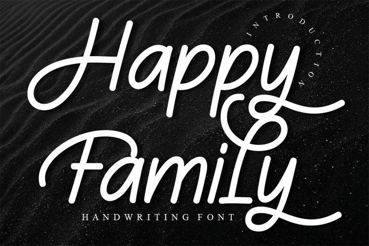 Happy Family example image 1