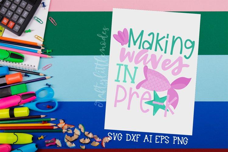 Preschool Mermaid | Mermaid Svg | Back To School