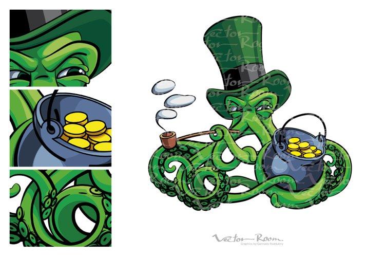 Octopus the Suspicious Leprechaun example image 1