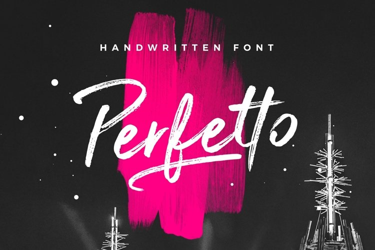 Perfetto Brush Font