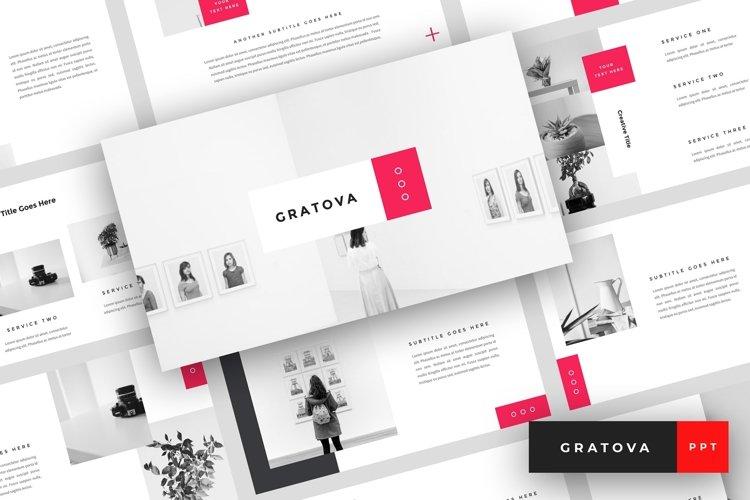 Gratova - Creative PowerPoint Template example image 1