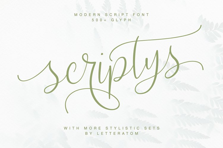 Scriptys With Amazing Alternates example image 1