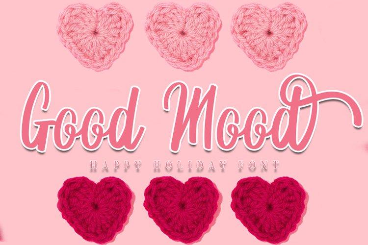 Good Mood - Beautiful Holiday Font example image 1