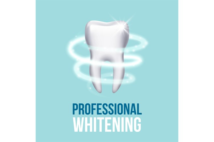Teeth protection, tooth care dental medical vector concept example image 1