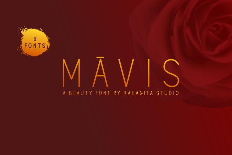 Mavis - Sans Serif Font example image 1