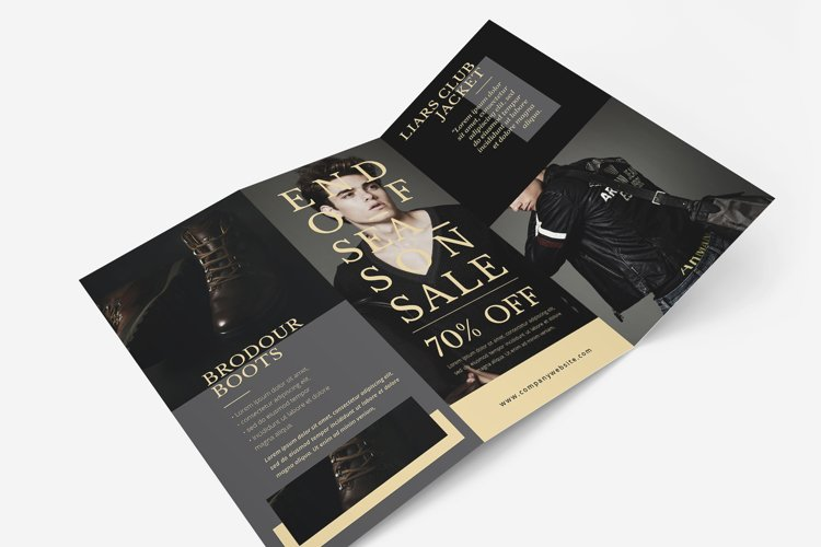 Fashion Trifold Brochure example image 1