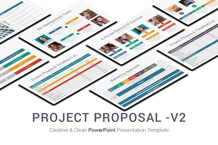 Project Proposal -V2 PowerPoint Presentation Template