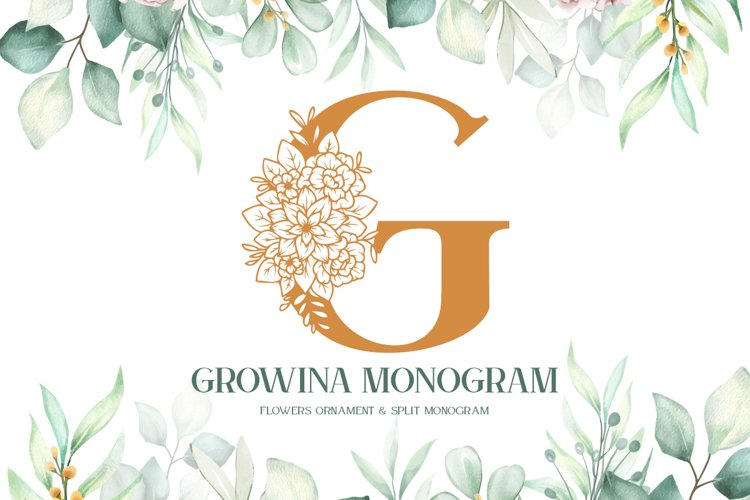 Growina Monogram example image 1