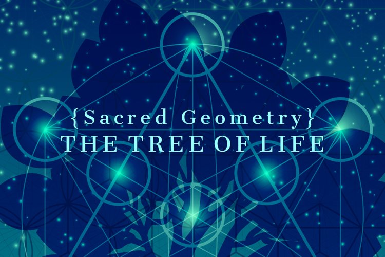 {Sacred Geometry} The Tree of Life example image 1