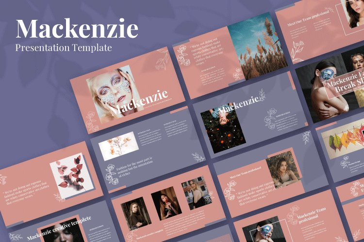 Mackenzie - Creative Powerpoint Template example image 1