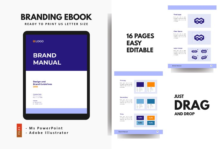 Brand Guidelines 2021 PowerPoint Template