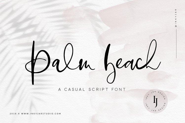 Palm Beach | Casual Script Font