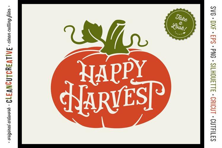 Happy Harvest Vintage Rustic Pumpkin In Svg Dxf Eps Png 136634 Cut Files Design Bundles