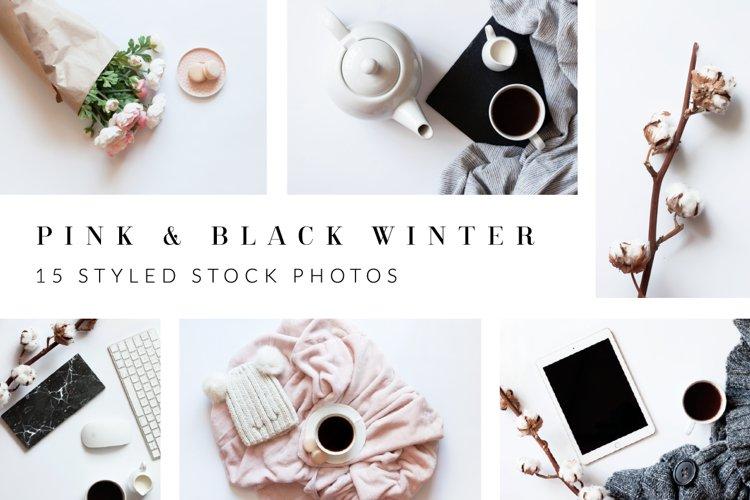 Pink & Black Styled Stock Bundle