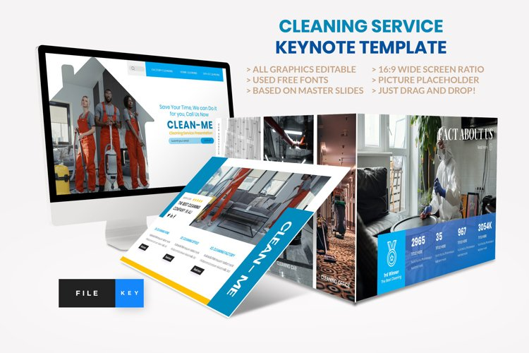 Cleaning Service Keynote Template