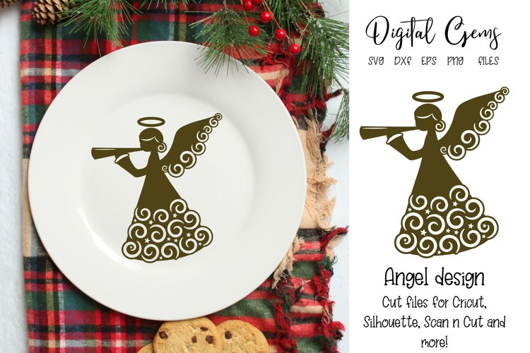Angel SVG / PNG / EPS / DXF files