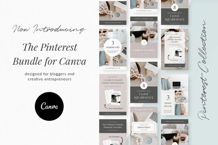 Pinterest Templates for Canva