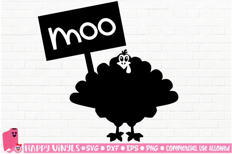 Funny Thanksgiving Turkey - A Thanksgiving SVG File