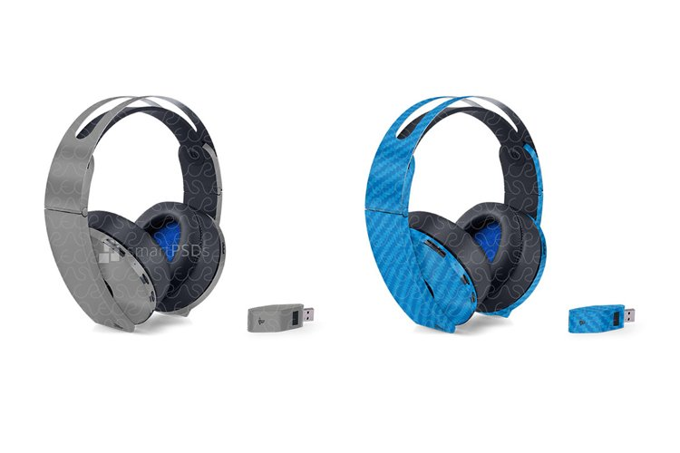 Sony PS4 Platinum Wireless Headset With Power Adapter 2016 example image 1