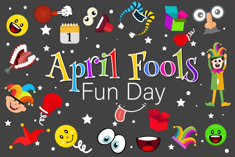 April Fools Day Illustration example image 1
