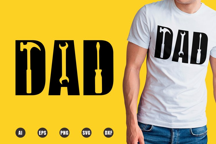 Dad Builder SVG - Father's Day Designs example image 1