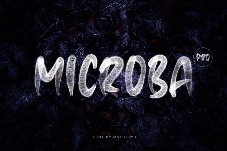 Microba Pro SVG Font example image 1