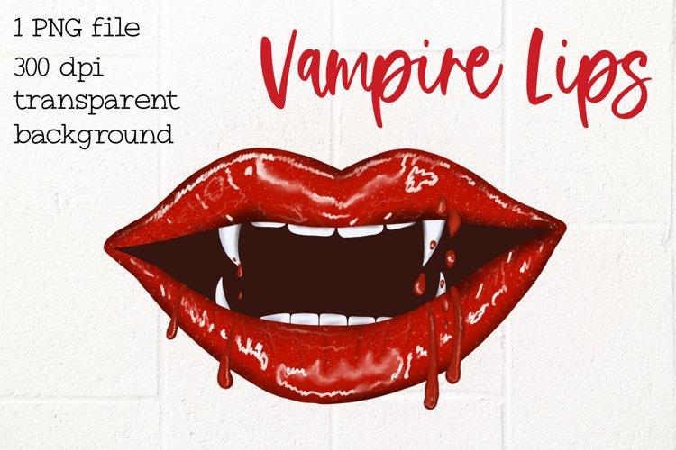Lips Dripping, Vampire Lips example image 1