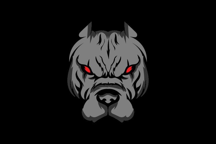 Dog face logo mascot template - Eps 10 example image 1
