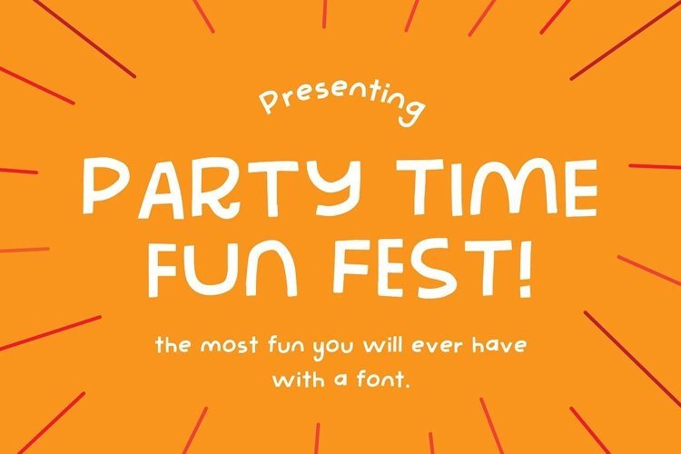 Party Time Fun Fest | The Most Fun You'll Ever Have example image 1
