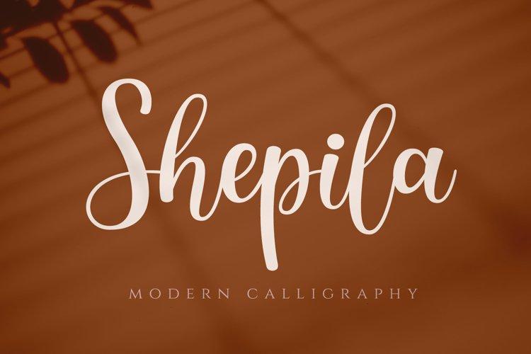 Shepila - Lovely Script example image 1