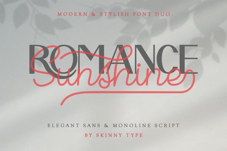 Romance Sunshine example image 1