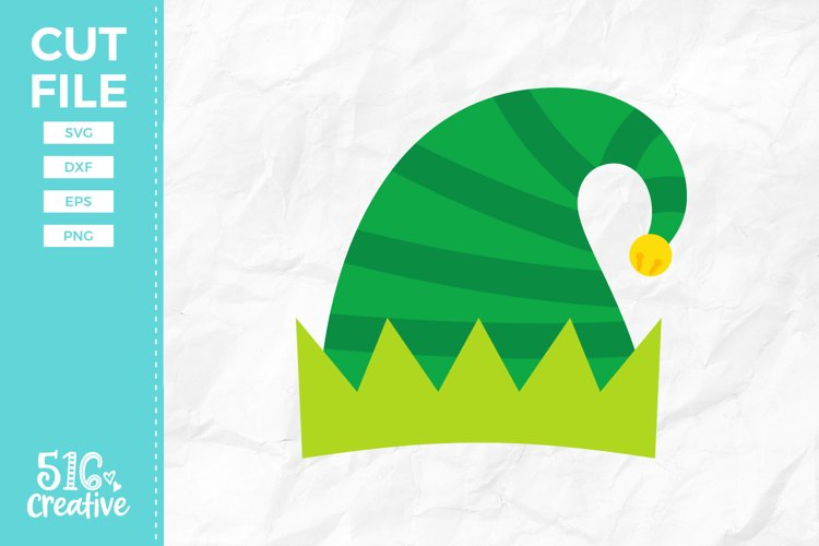 Elf Hat SVG DXF EPS PNG example image 1