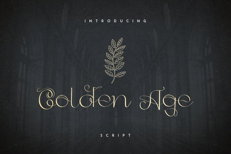 Golden Age Script example image 1