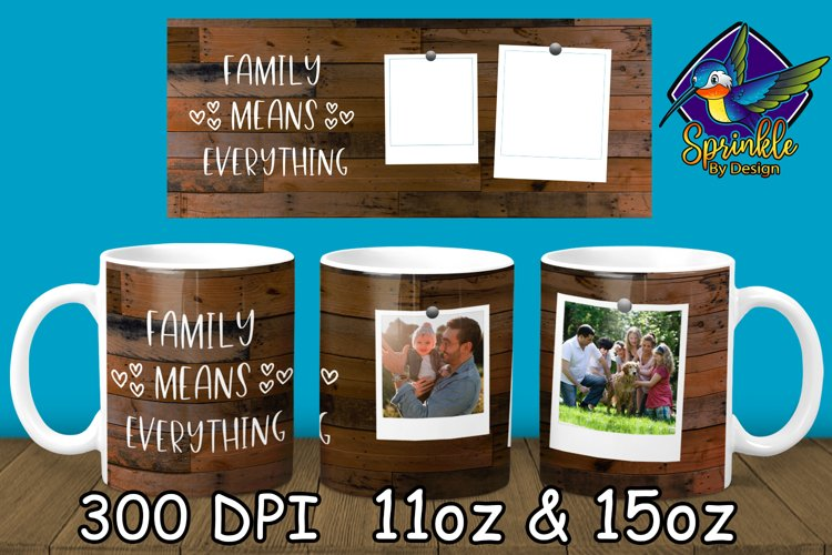 Family Mug Sublimation - Photo Sublimation Mug Designs