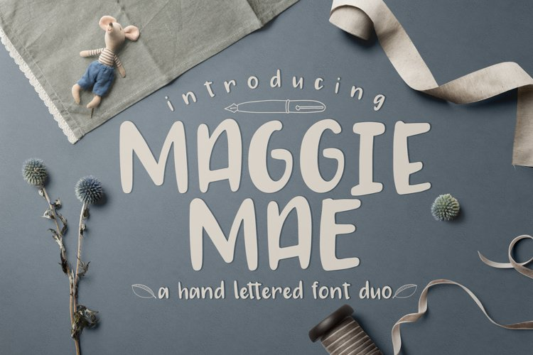 Maggie Mae Font Duo